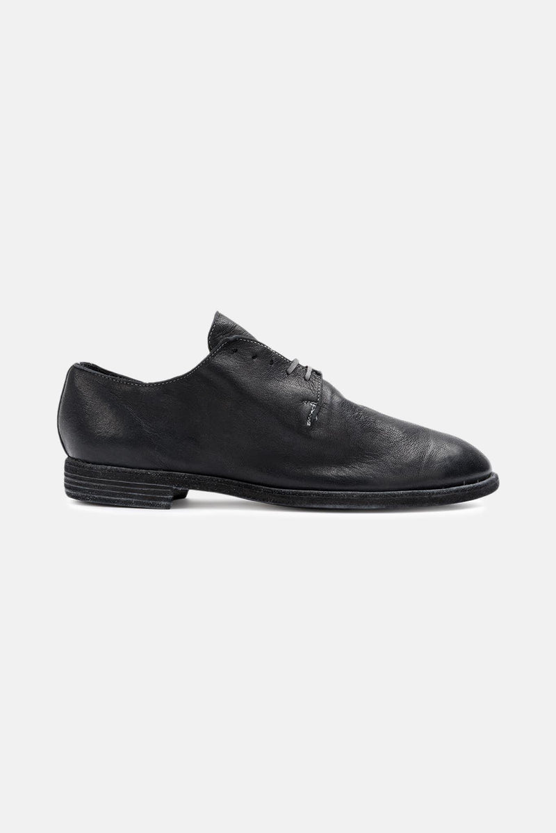 Derbies en cuir noires Guidi