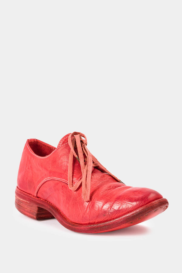 Carol Christian Poell Red leather derby shoes