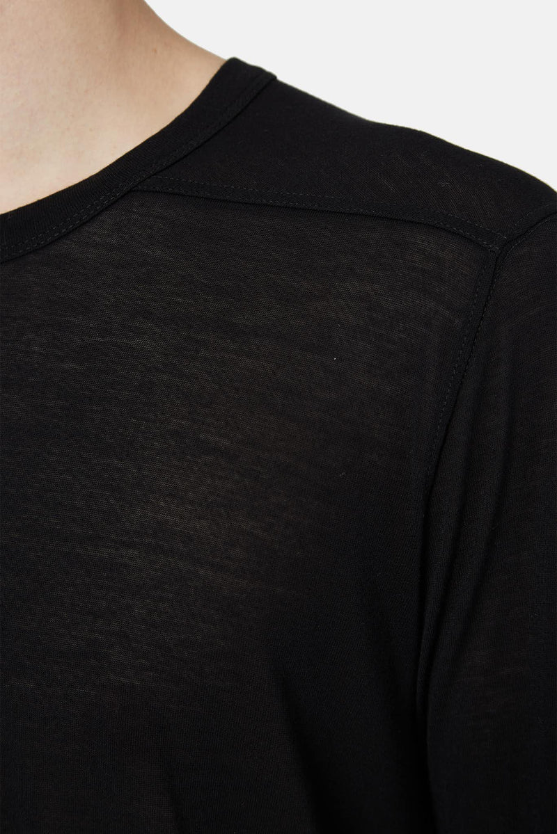 T-shirt long noir Rick Owens