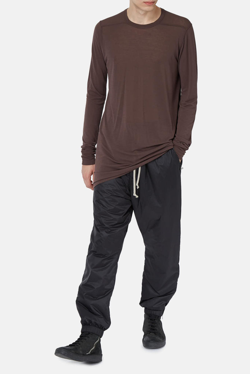 T-shirt long raisin Rick Owens