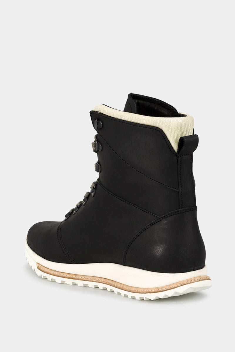 Rick Owens Black Leather Boots