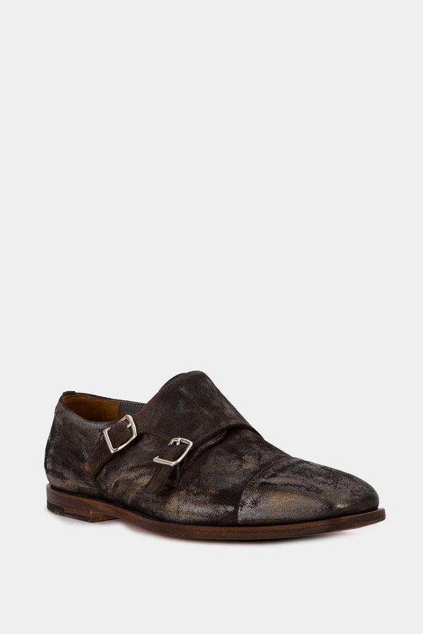 Premiata Leather Buckle Shoes