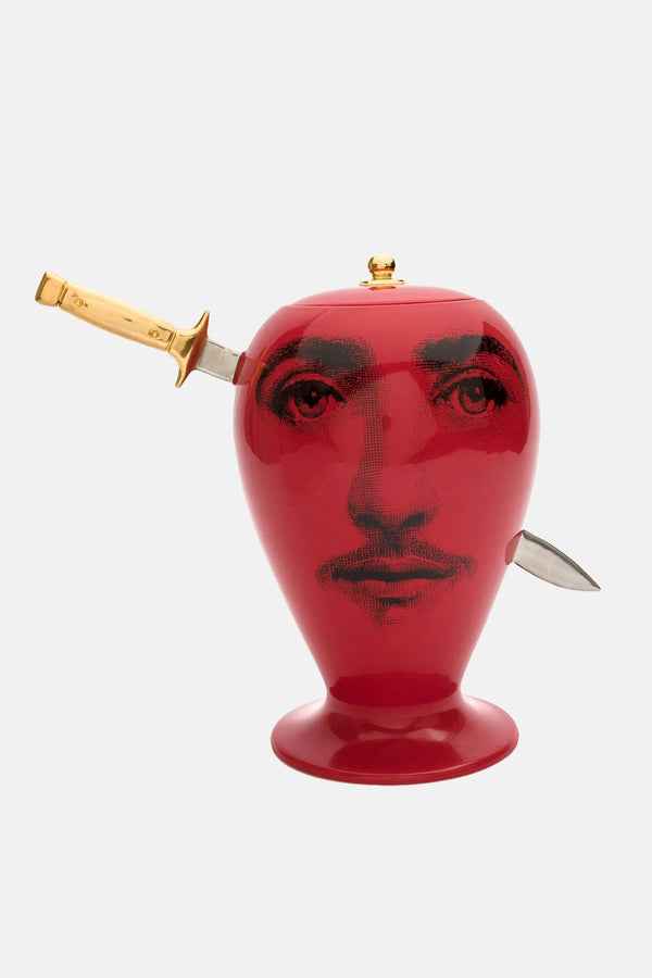 Vase Don Giovanni - rouge Fornasetti