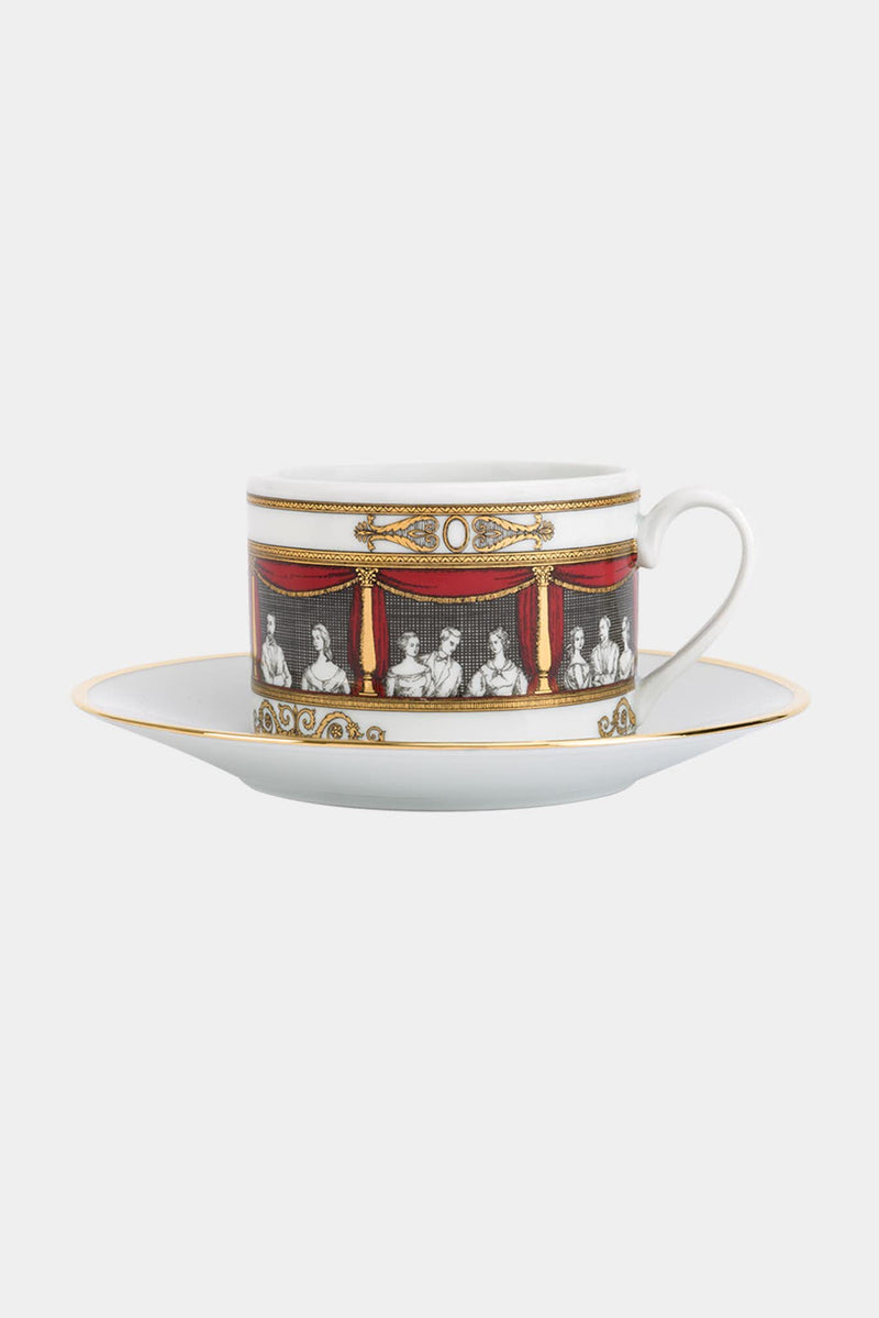 Set de 6 tasses à thé Don Giovanni Fornasetti