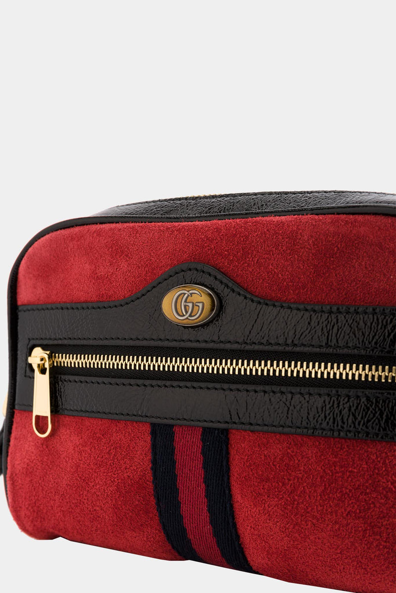 Gucci Ophidia red leather bag