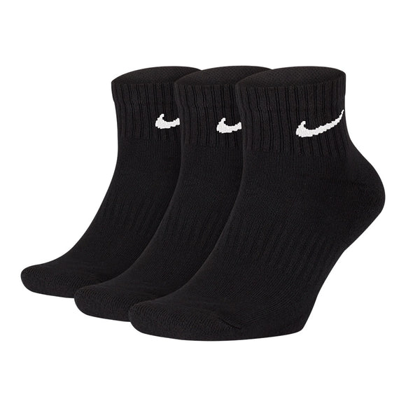 Nike | Nike Everyday Cotton Cushion Ankle Socks 3 Pairs - Dynamic Sports