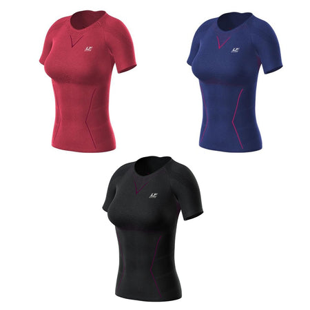LP Support | Ladies Air Compression Short Sleeve Top - Dynamic Sports