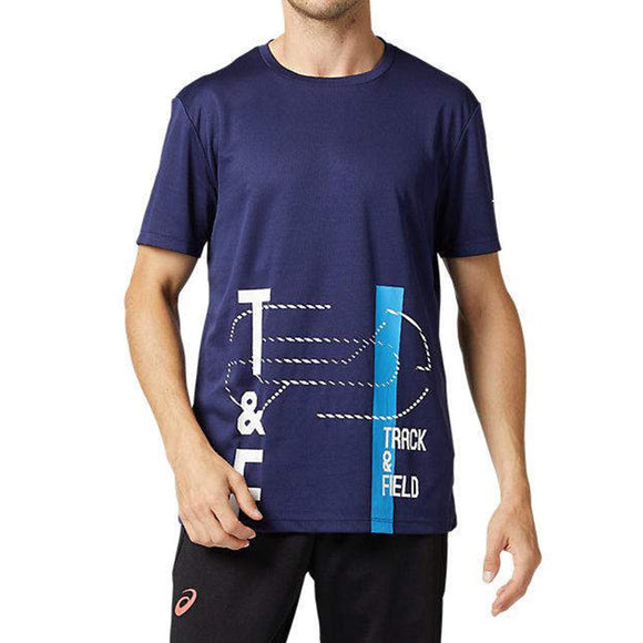 Asics | M T&F Graphic Tops - Dynamic Sports