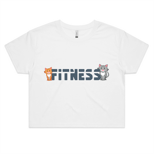 Fitness AS Colour - Womens Crop Tee
