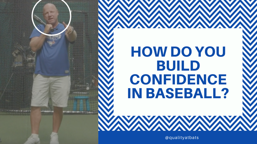 how to build confidence in baseball