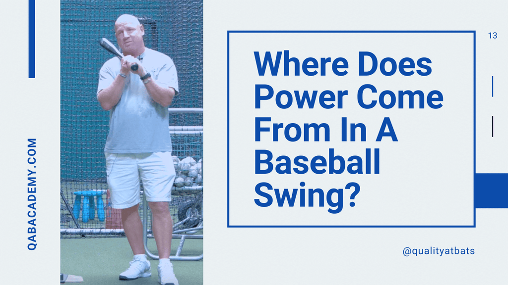 Where Does Power Come From In A Baseball Swing?