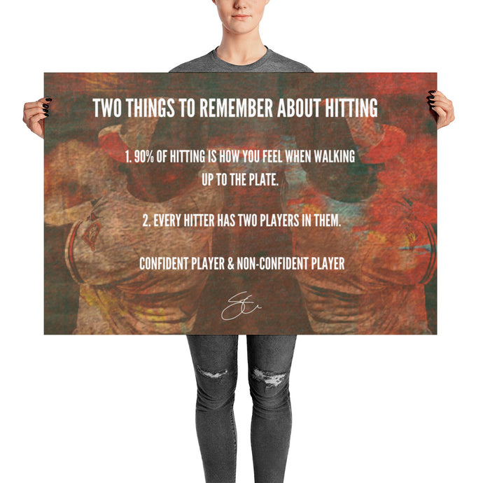 2 Things Remember About Hitting.