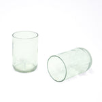 Transglass Set of 2 Glasses - clear