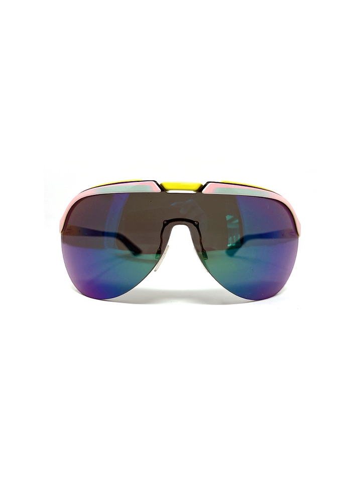 Aviator Neon Sunglasses
