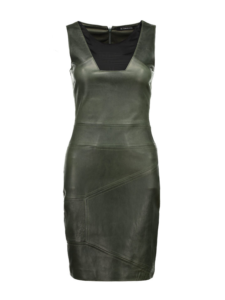 Wild Night Leather Dress