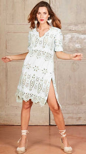 Ibiza Dress White - Antica Sartoria
