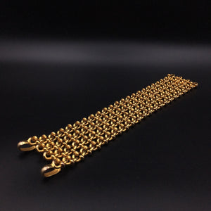 Messing Armband - Massive Brass long