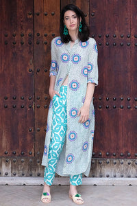 Turquoise Kaftan - Nimo with Love