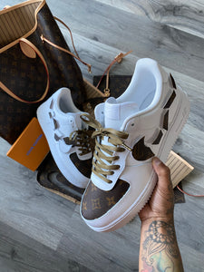 Louis Vuitton Broken Check Air Force 1