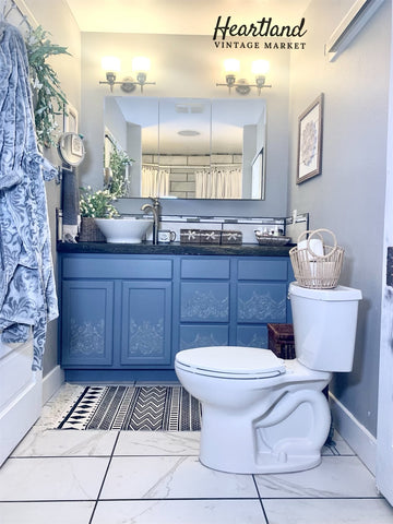 My (Inexpensive) Bathroom Makeover