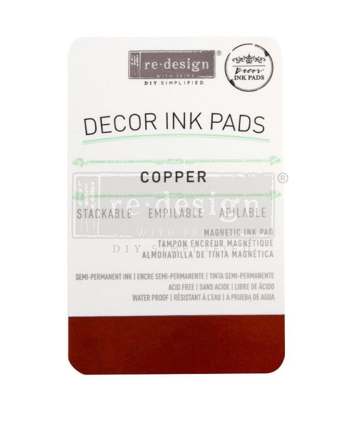 Copper Decor Ink Pad