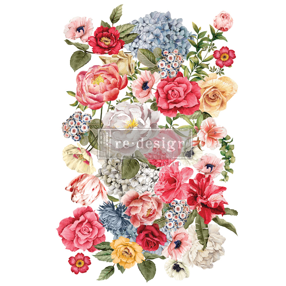 Wondrous Floral II transfer by Redesign with Prima