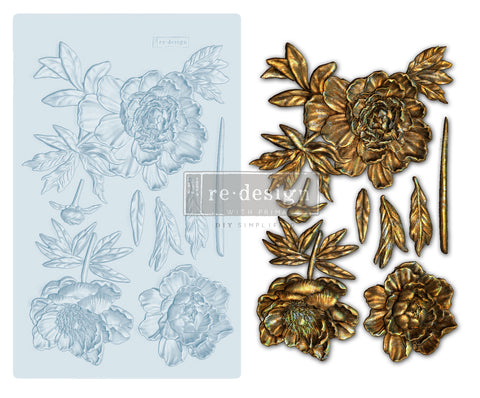 Wilderness Rose Decor Mould