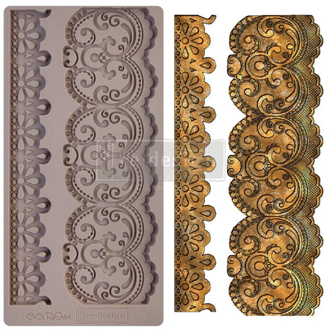 Border Lace Decor Mould by CeCe Restyled