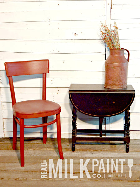 Real Milk Paint Barn Red