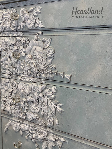 Romantic Floral Chest of Drawers