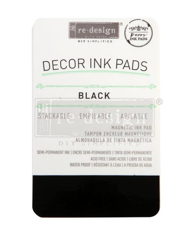 Black Decor Ink Pad