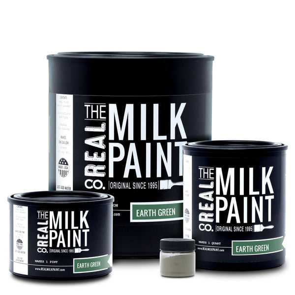Real Milk Paint Earth Green