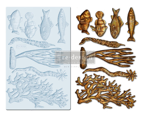Coral Reef Decor Mould
