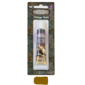 Art Alchemy Metallique Wax Vintage Gold