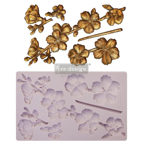 Botanical Blossoms Decor Mould