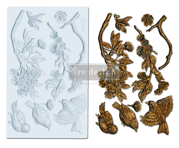 Aviary Decor Mould