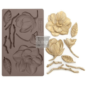 Decor Mould, Winter Blooms