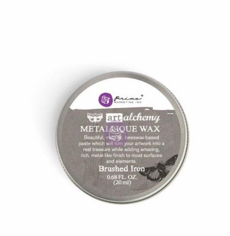 Art Alchemy Metallic Wax Brushed Iron