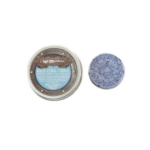 Art Alchemy Metallic Wax Blue Lagoon