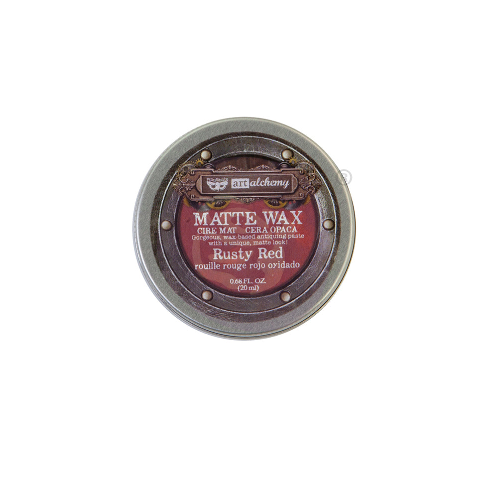 Art Alchemy Wax, Rusty Red