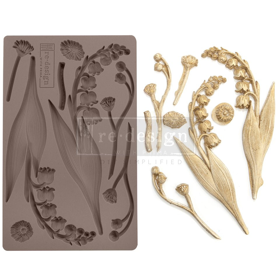 Decor Mould, Bell Orchids