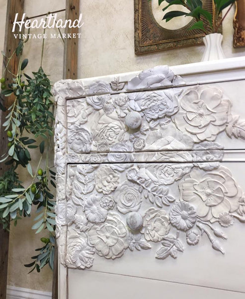 Decor Mould, Leafy Blossoms
