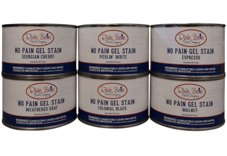 No Pain Gel Stain