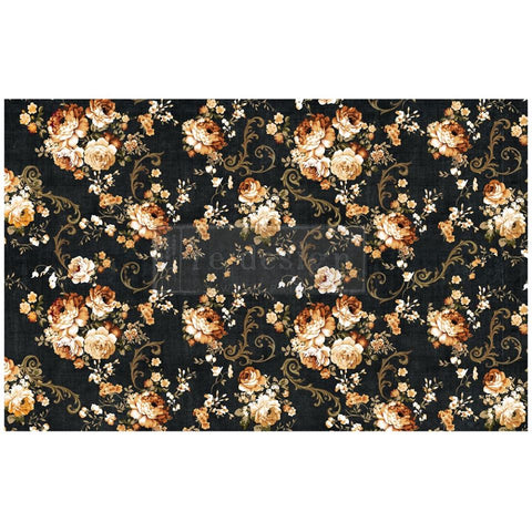Decopauge Decor Tissue Paper, Dark Floral