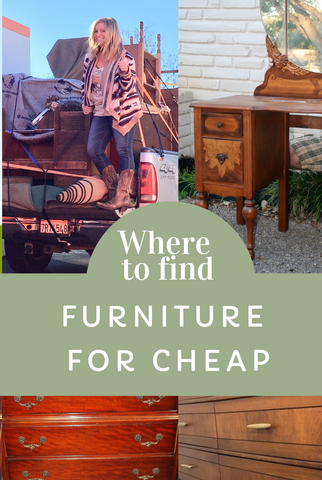 Where to Find Furniture for Cheap