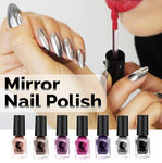mirror nail polish gel