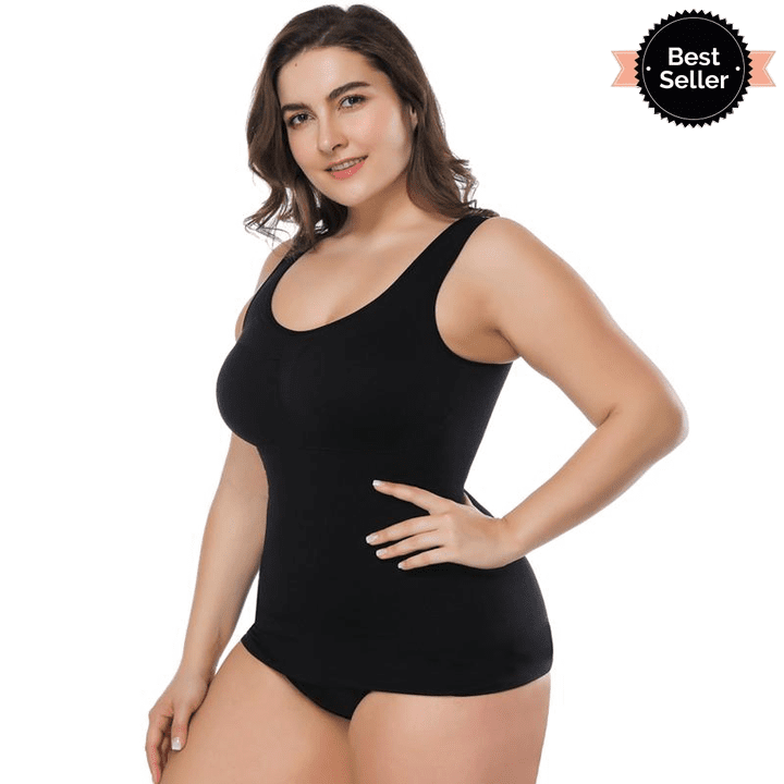Women Wearing  Camsiole Body In Black