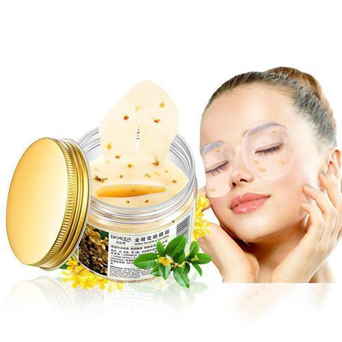 new deluxe gold osmanthus eye pads