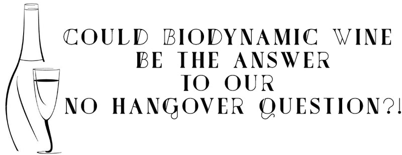 Could Biodynamic Wine be the answer to our No Hangover questions?