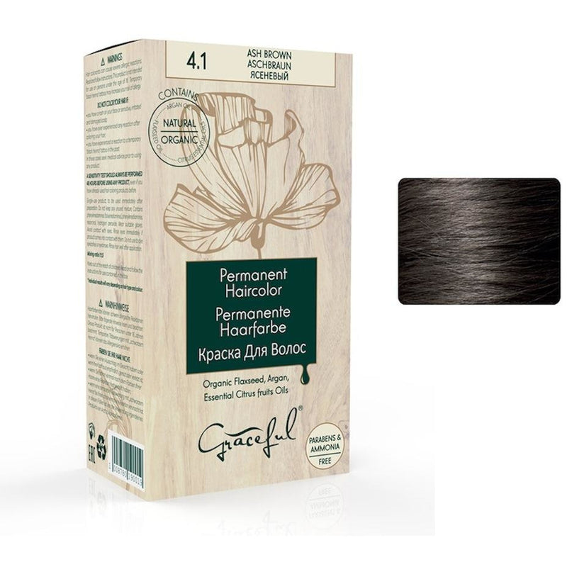 4.1 Ash Brown Graceful Hair Colour